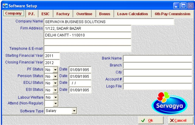 Servagya : Payroll Software - Complete Payroll with PF, ESI, TDS ...